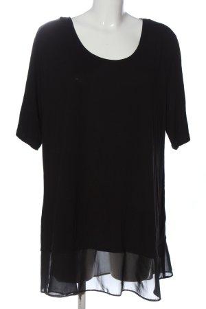 CANADA Bluzka z krótkim rękawem czarny W stylu casual