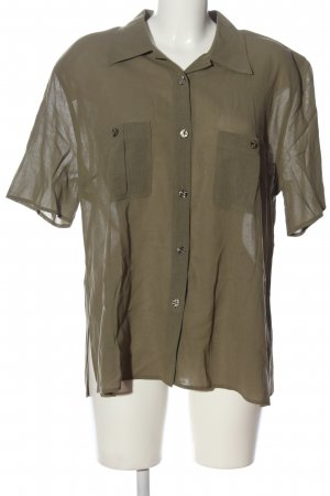 CANADA Short Sleeved Blouse bronze-colored casual look