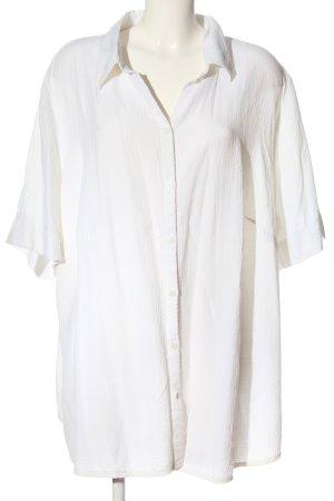 CANADA Koszula z krótkim rękawem biały W stylu biznesowym