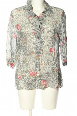 CANADA Long Sleeve Blouse allover print casual look