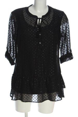 CANADA Long Sleeve Blouse black casual look
