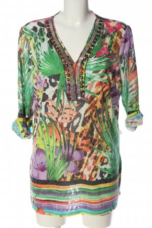 CANADA Slip-over Blouse allover print casual look