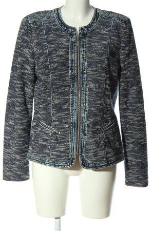 CANADA Between-Seasons Jacket blue-light grey flecked casual look
