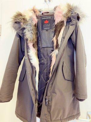 Canadian Classics Winter Coat green grey