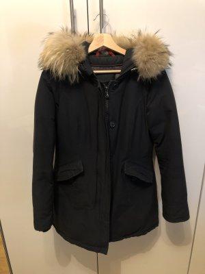Canadian Classics Down Coat dark blue mixture fibre