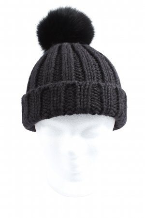 Canadian Classics Pom-pom muts zwart casual uitstraling