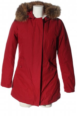 Canadian Winter Jacket red casual look