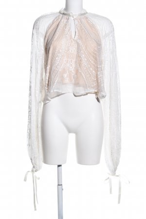 Canal + Bowery Long Sleeve Blouse white-cream casual look