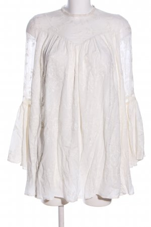 Canal + Bowery Abito in pizzo bianco stile casual