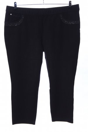 Canda 3/4 Length Trousers black casual look
