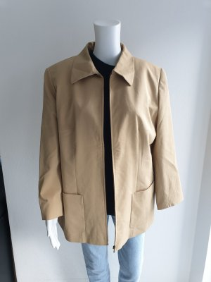 Canda 44 beige Oversize jacke Pullover Mantel Pulli bomberjacke cardigan strickjacke Trenchcoat hemd bluse True Vintage