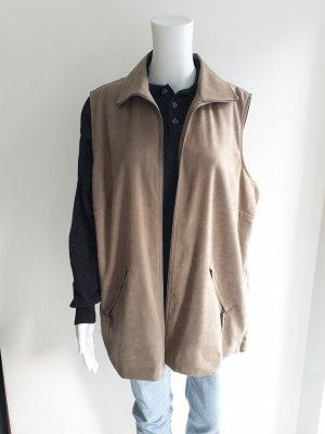 Canda 48 beige Weste trenchcoat Jacke Pullover mantel Pulli Cardigan strickjacke blazer trenchcoat bluse parka hoodie
