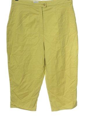 Canda Pantalone a 7/8 giallo pallido stile casual