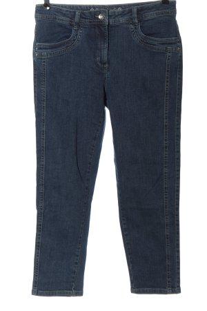 Canda Jeans a 7/8 blu stile casual