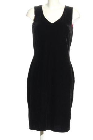 Canda A-Linien Kleid schwarz Casual-Look