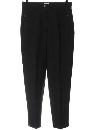 Canda Pantalone da abito nero stile professionale