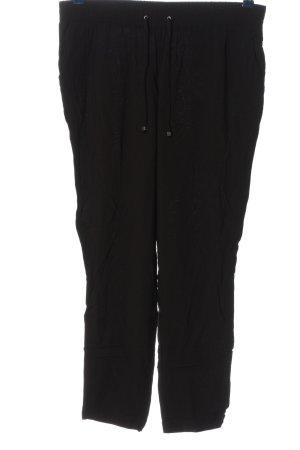 Canda Luźne spodnie czarny W stylu casual