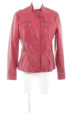 Canda Biker Jacket red casual look