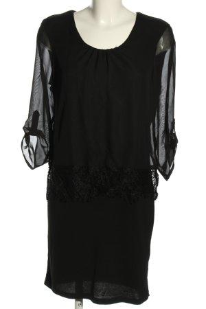 Canda Sukienka koszulowa czarny W stylu casual