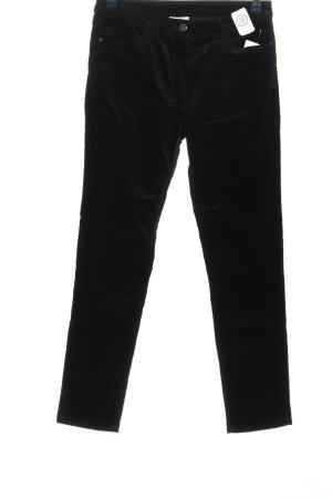 Canda Corduroy broek zwart casual uitstraling