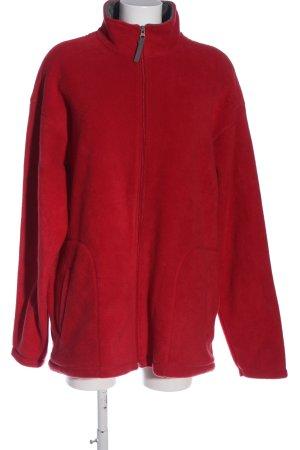 Canda Polarowy sweter czerwony W stylu casual