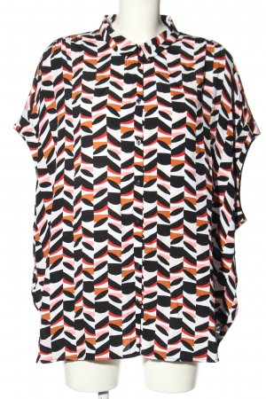 Canda Hemd-Bluse Allover-Druck Casual-Look