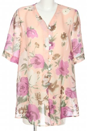 Canda Hemd-Bluse nude-pink Allover-Druck Party-Look