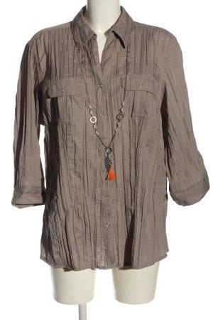 Canda Camicia blusa grigio chiaro stile casual