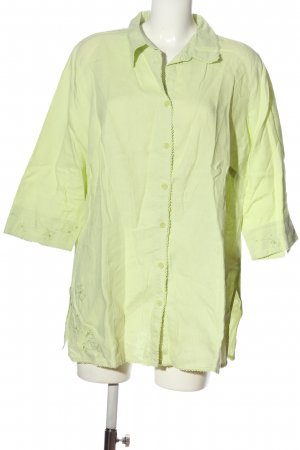 Canda Hemd-Bluse grün Casual-Look