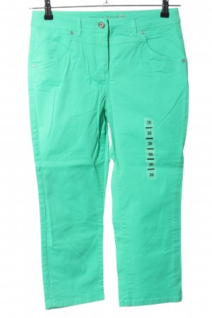 Canda High Waist Trousers turquoise casual look