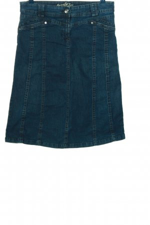 Canda Jeansrock blau Casual-Look