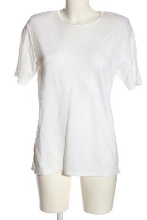 Canda Bluzka z krótkim rękawem biały W stylu casual