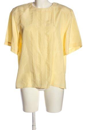 Canda Koszula z krótkim rękawem bladożółty W stylu casual
