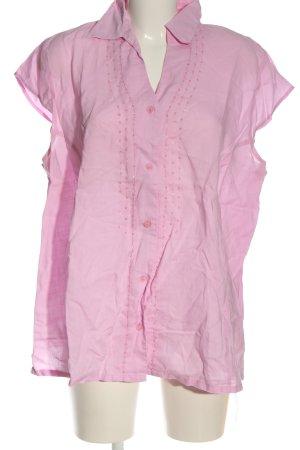 Canda Camicia a maniche corte rosa stile casual