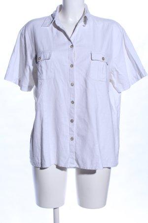 Canda Short Sleeve Shirt white casual look