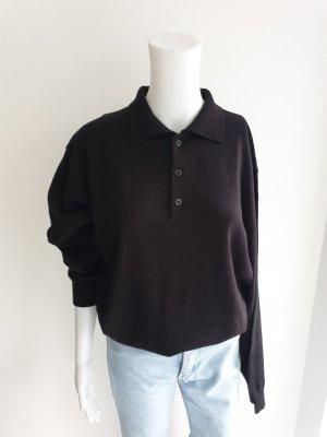 Canda Sweter oversize czarny