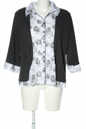Canda Long Sleeve Blouse flower pattern casual look