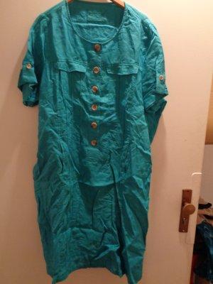 Canda Leinen Kleid Gr. 52/54 Brustweite 68cm