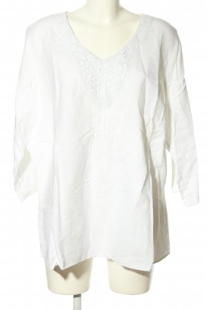 Canda Linen Blouse white casual look
