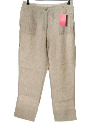 Canda Pantalon en lin rose chair style décontracté