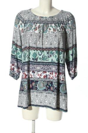 Canda Lang shirt abstract patroon casual uitstraling