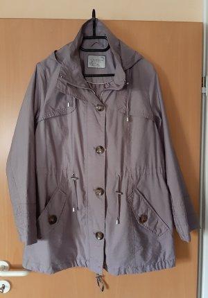 Canda :Mantel mit Kapuze blass Flieder 46