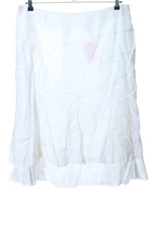 Canda Spódnica midi biały W stylu casual