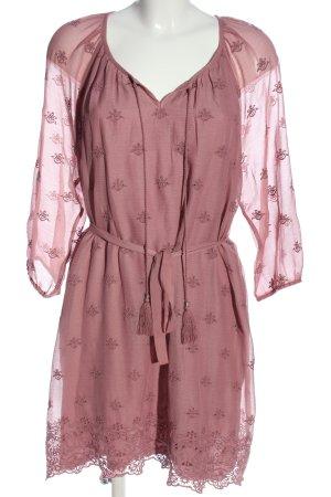 Canda Sukienka mini różowy Elegancki