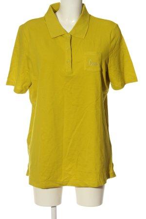 Canda Polo giallo pallido stile casual