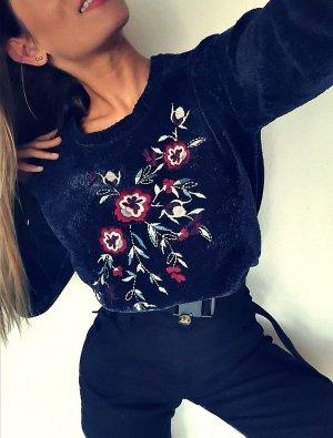 C&A Sweter z grubej dzianiny ciemnoniebieski