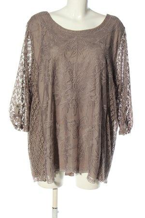 Canda Premium Crochet Shirt brown casual look
