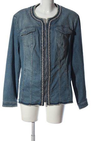 Canda Premium Jeansowa kurtka niebieski W stylu casual