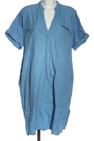 Canda Premium Robe à manches courtes bleu style décontracté
