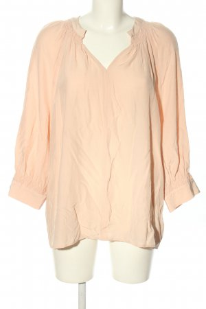 Canda Premium Long Sleeve Blouse nude business style